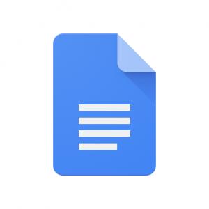 Logo Google Documenten