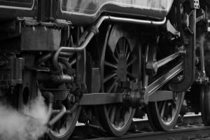 wielen van een trein