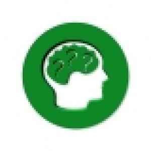 picto van een hoofd waarin de hersenen gevuld zijn met vraagtekens