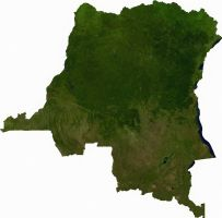 landkaart Congo