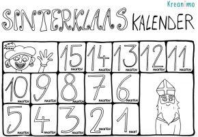 Kleurplaten Sinterklaas Lijstje.Kleuter Sinterklaas Favorieten Leermiddelen Klascement