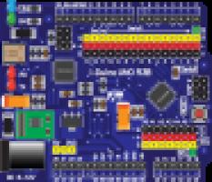 Afbeelding moederbord Raspberry Pi