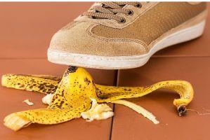 Banaan en schoen