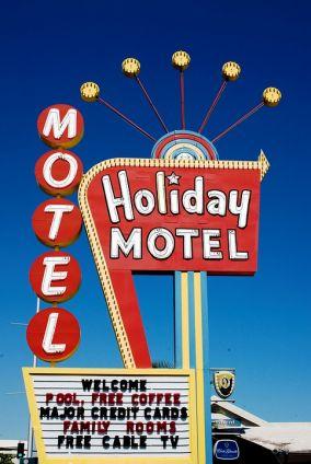 uithangbord van een hotel