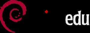 Het logo van debianedu.