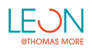 Logo with text LEON @ Thomas More