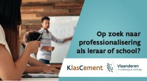 Kijkwijzer: op zoek naar professionalisering als leraar of school?