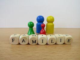 pionnen bij het woord familie