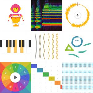 Preview van Google Music Lab