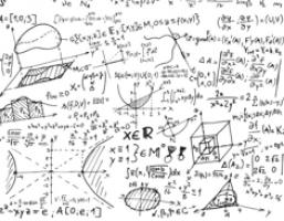 wiskundig gekribbel