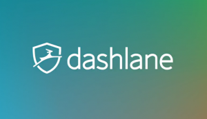 Het logo van Dashlane.