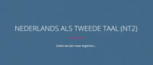 Nederlands als tweede taal (Nt2), Zullen we dan maar beginnen