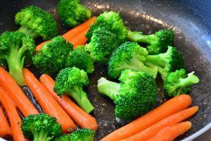 broccoli en wortelen