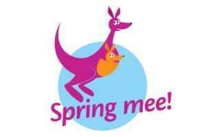 Logo met een kangoeroe