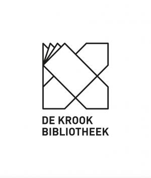 logo van De krook bibliotheek