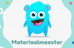 kaartje materiaalmeester