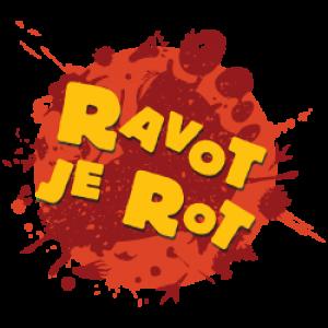 Logo van ravot je rot