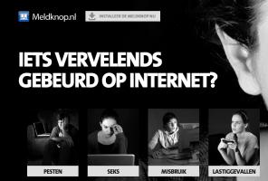 extract van de website: iets vervelends gebeurd op internet?