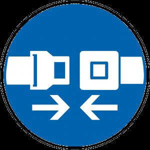veiligheidsgordel icoon