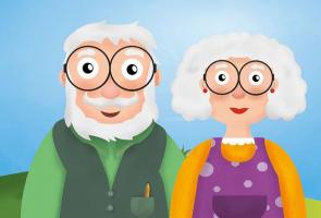 Opa Kamiel en oma Paula