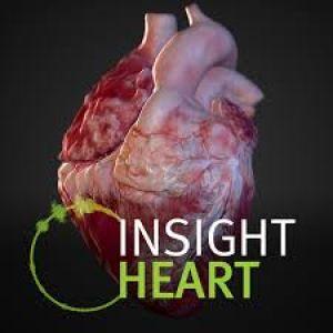 Het logo van de app Insight Heart.