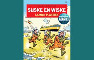 cover van de strip 'Mambik Plastiek'