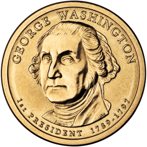 coin with Washington