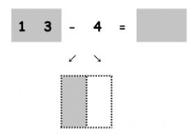 Oefening 13 - 4 met splitsing