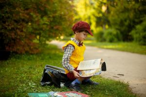 Boy who reads