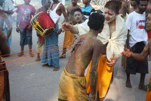 Indië - volks tafereel
