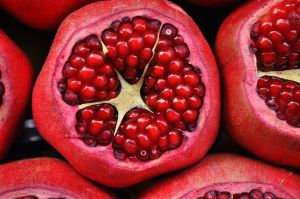 Photo pomegranate