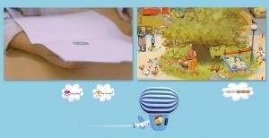 Screenshot video de doorgaande lijn kim-versie Veilig Leren Lezen