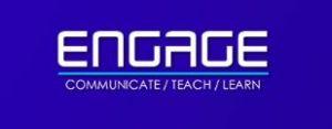 The Engage logo.