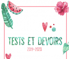 voorblad tests et devoirs
