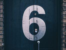 digit six