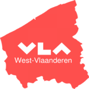 map of the province of West Flanders