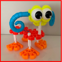 figure in kid k'nex