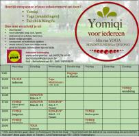 Yomiqi + uurrooster Ankerpunt in beweging
