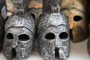 Griekse helmen