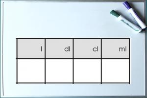 voorbeeld omzettingstabel inhoud