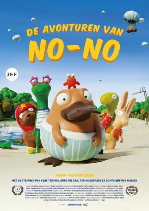 Poster film with image of No-No and his friends