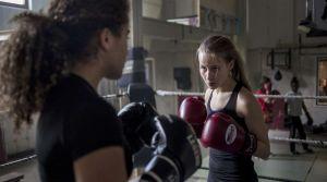 boksende meisjes