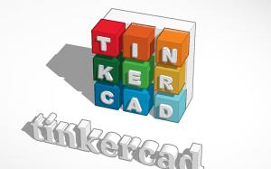 Het logo van tinkercad