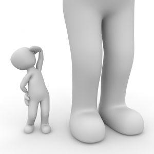 Klein versus groot