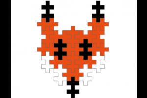 Voorbeeld van Plus-Plusbouwsel : vos