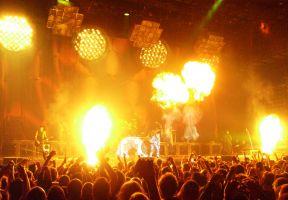 Concert van Rammstein