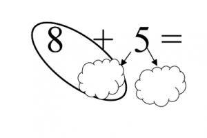 Example exercise 17-8 with split cloud