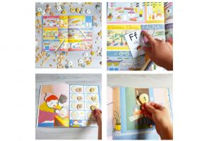Photos of craft ideas with the picture book