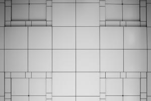 kleine en grote vierkanten