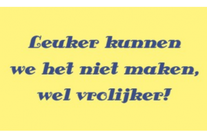 Slogan van een website